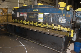 Cincinnati Mechanical Squaring Shear