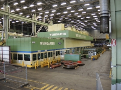 1 - Weingarten S 6200.06.230 6.200 ton Cross Bar Transfer  Press Line