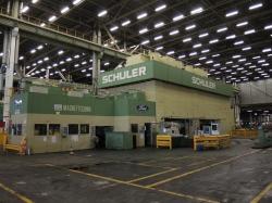 1 - Schuler TSB-3200-6-1828.8 3200 ton Tri-Axes Transfer Press Line