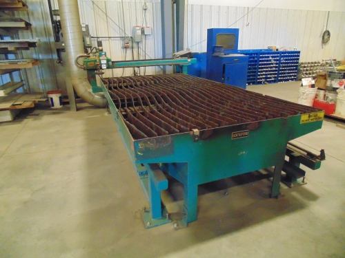 corp steel conveyor burn table bristol picture