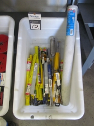 1 - Lot of Assorted Rotary Drill Bits
