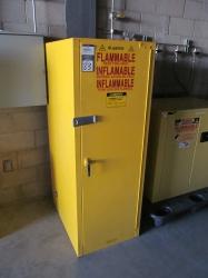 1 - Justrite SC25844Y 54 Gallon Safety Cabinet