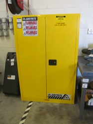 1 - Justrite 894500 45 Gallon Safety Cabinet