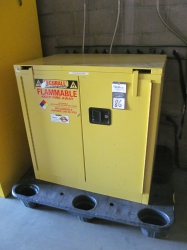 1 - Securall A331 30 Gallon Safety Cabinet