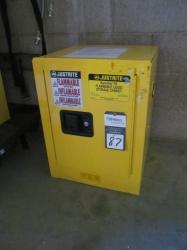 1 - Justrite 890420 4 Gallon Safety Cabinet