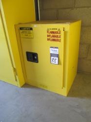 1 - Justrite 29046 24 Aerosol Can Safety Cabinet