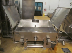 1 - BCH   Jacketed Tilting  Bratt Pan