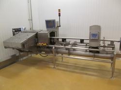 1 - Mettler Toledo XS 3 6000 g. Combination Checkweigher /   Metal Detector