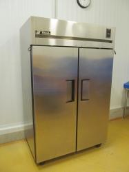1 - True TR2F-2S  Stainless Steel Double Door Freezer