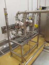 2 - Murzan Stainless Steel Pneumatic Diaphragm