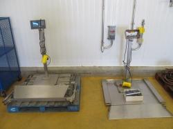 2 - Mettler Toledo PUA579-CS600  600 kg Floor