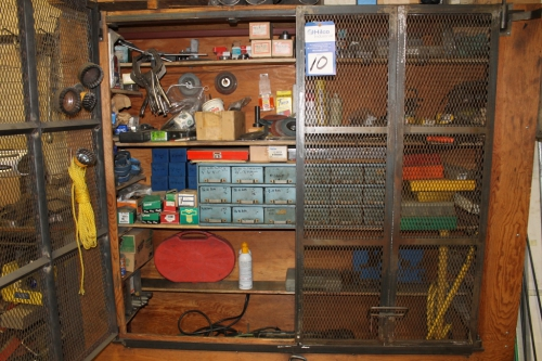 1   Wall Mounted Tool Storage Cabinet