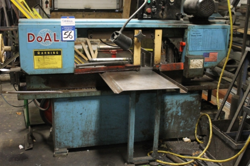 doall horizontal band saw. 1 - doall c-916 9\ doall horizontal band saw n