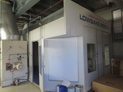 1 - Lowbake Spray Booth & Oven