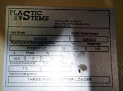 1 - Plastic Systems PD7FC3 Hopper/Loader