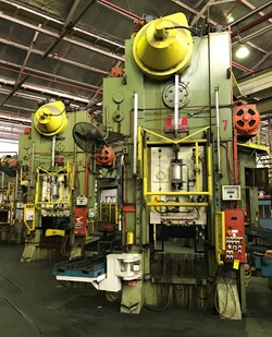 1 - US Industries 300/500Ton Stamping Press Line