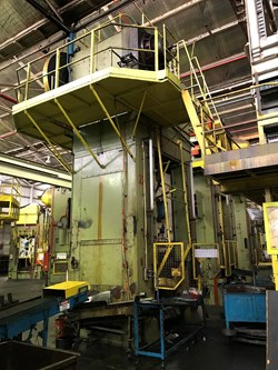 1 - Wilkins & Mitchell 350/750Ton Stamping Press Line