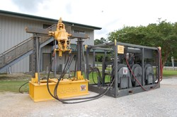 1 - National Oilwell Varco S-120 Power Swivel Pipe Rotating System