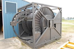 1 - Gulf Coast Mfg. 16 Line Umbilical Type Hose Reel
