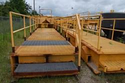 2 - 6' x 28' Cantilever Work Deck Platforms