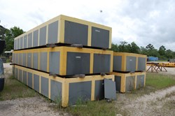 5 - 3' H x 8' W x 25' L Mud Mat Containment Boxes