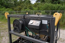 1 - Gulf Coast Mfg. Hydroplex Hydroplex High Pressure Test Pump Skid