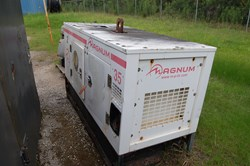 1 - Magnum MMG35 Continuous Duty 33 KVA Generator