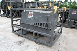 1 - Ingersoll Rand P185 Skid Mounted Air Compressor