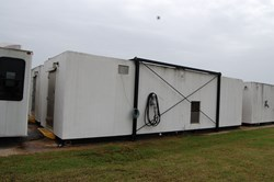1 - 35' x 8' Living Quarters/ Office Trailer