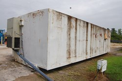 1 - 10' x 35' Skid Mounted Office Trailer