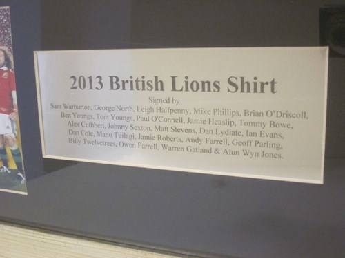 934949cb Contact Transport Memorabilia - Online Auction - 1 - British Lions ...