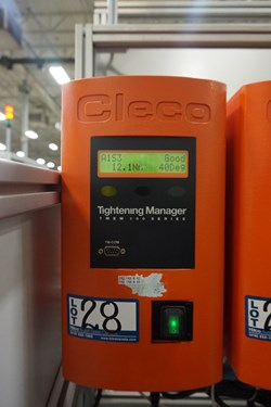 1 - Cleco THEM-114-15-V-I0 Tightening Manager 100 Series Nut Runner