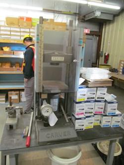 1 - Carver 3853 Manual Pellet Press