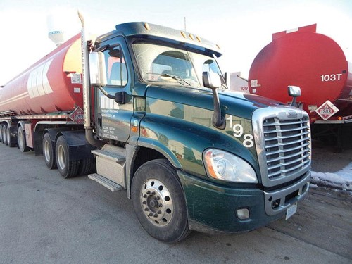 Fuel Hauling Trucking Fleet
