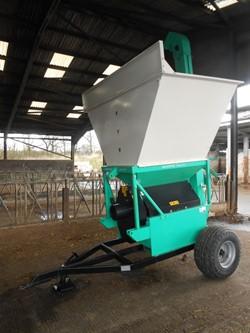 1 - Murska Korte MKK 1000HD U2 Wheeled Tractor  Driven Grain Crimper
