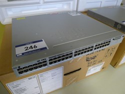 1 - Cisco Catalyst 3850 48 PoE + Cisco  48 Port Switch