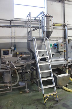 1 - Meta Meccanica Panatrice  Model 6BB00007 Secondary Seed Coating Station