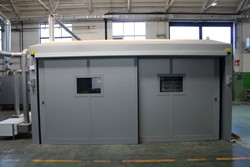 1 - Freestanding Temperature Controlled 2 Section Combination Cooling / Oven Room