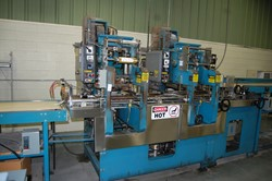 1 - Deflorez FSXL-HD  Two Head Case Foil Stamping Machine