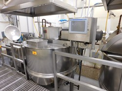 1 - Lee 500 D9MS stainless jacketed Kettle