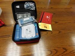 1 - Philips Heart Start Defibrillator
