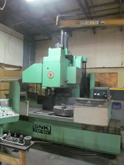1 - SNK FSP-50V CNC Vertical Machining Center