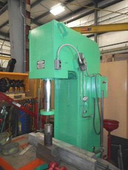 1 - Hannifin T-10037 20 Ton C-Frame Hydraulic Press