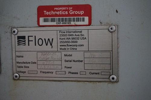 Technetics - Webcast Auction - 1 - Flow Mach 2 1313B 3-Axis