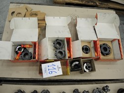 1 - Lot milling Heads Tooling