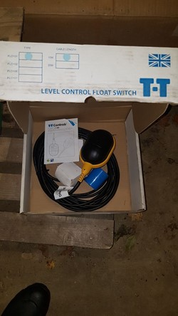 1 - TT Controls FL0101 ATEX-IECEX Approved Level Control Float Switch