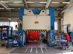 1 - Fjellman 107  1000 ton Tryout Hydraulic Press