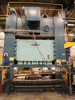 1 - Cowlishaw Walker Co S4-600-2800-300  600 Ton Press Line