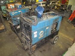 1 - Miller Bobcat 225NG Gas Powered, 8000 Watt Welder Generator