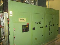 1 - Sullair TS-32 350 HP Rotary Screw Air Compressor